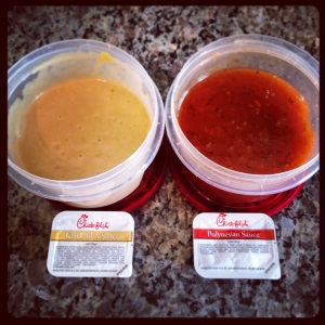 copycat Chick-fil-a sauces.